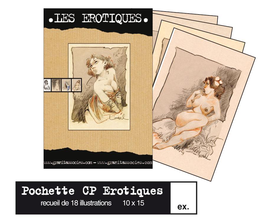 Cartes postales nouvel an érotique