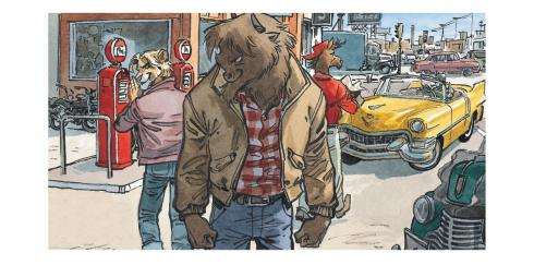 Blacksad Guarnido Amarillo