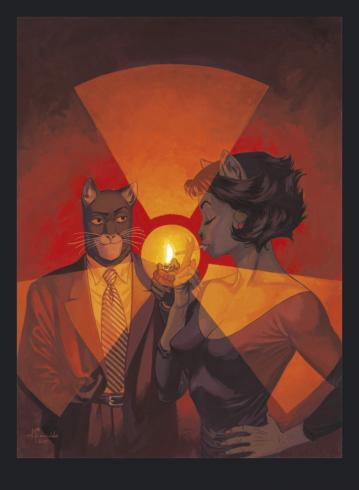Blacksad - Guarnido - L'Ame Rouge