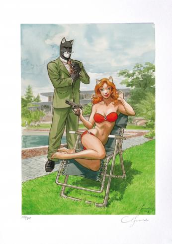 Bodyguard Blacksad Guarnido